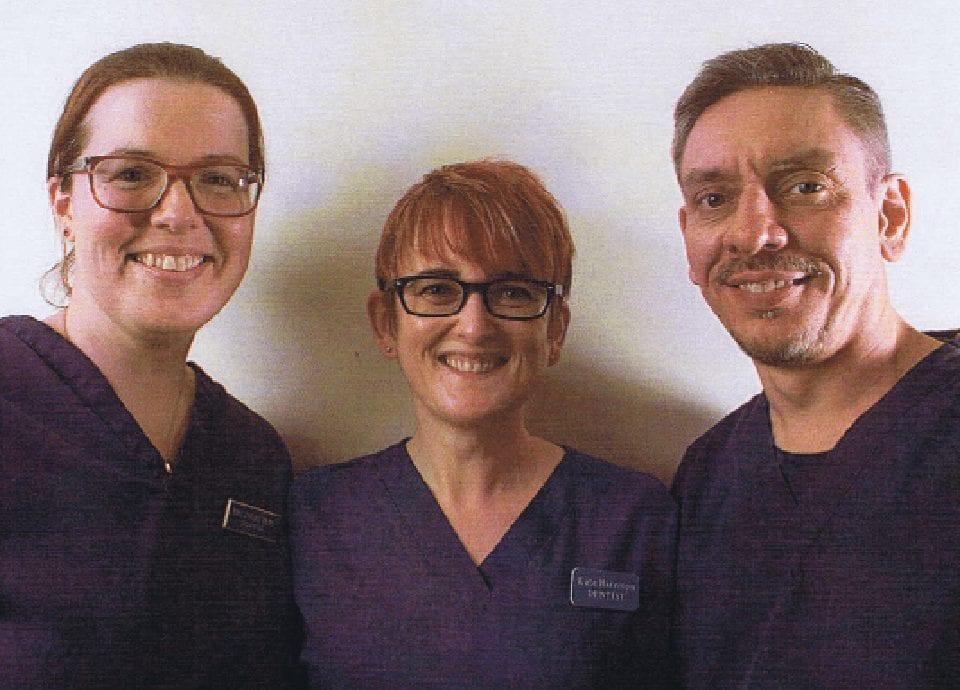 Jacqui Dean, Kate Harrison, Ian Stone - Berwick Hills Dental Services